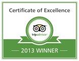 Thiviers-Hotel.com - Trip Advisor 2013 Winner